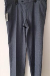 M&S Męskie eleganckie spodnie w kant 46 48