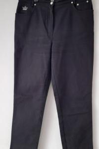 Czarne jeansy mom jeans wysoki stan 44...