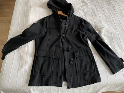 Bluzy Bluza czarna C&A George 42 14 kaptur