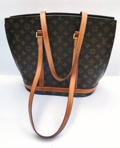 Torebki na co dzień Torebka Brązowa LV Louis Vuitton Logowana Shopper Bag Torba