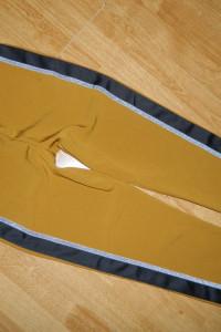 Fiveunits musztardowe spodnie roz 38...