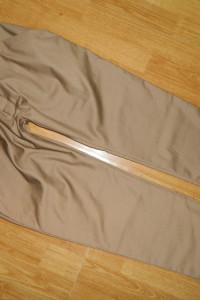 Feminine eleganckie spodnie ala haremki roz L...