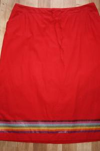 Czerwona spódnica 42...