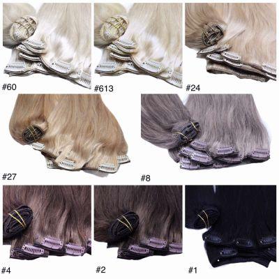 Ozdoby na włosy CLIP IN 40 cm WŁOSY NATURALNE