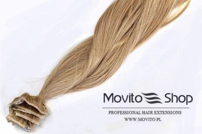 Ozdoby na włosy CLIP IN 50 cm WŁOSY NATURALNE