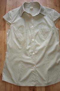 Beżowa bluzka 42...