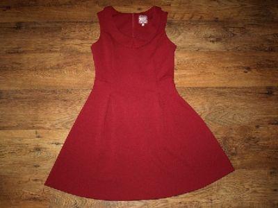 Suknie i sukienki Bordowa sukienka M L