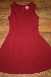 Bordowa sukienka M L...