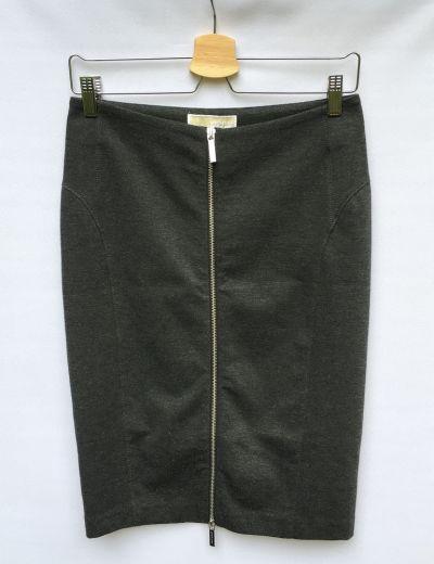 Spódnice Spódniczka Szara Grafitowa Michael Kors M 38 Ołówkowa Suwak