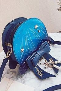 Granatowa torebka w stylu Lolita