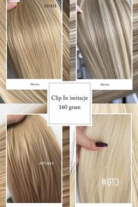 Włosy syntetyczne tylko 5999 Wyglądają jak naturalne...