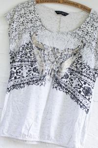 Dorothy Perkins szara koszulka bawełna rozmiar 40