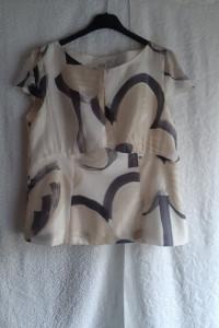 Jedwabna bluzeczka GaPa Fashion rozmiar M L