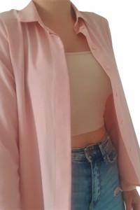 Różowa Koszula H&M...