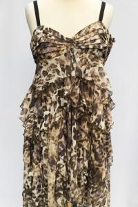 Sukienka H&M Panterka L 40 Cętki Asymetryczna Wizytowa...