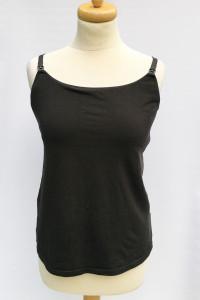 Bluzka Czarna Koszulka M 38 H&M Mama Do Karmienia...
