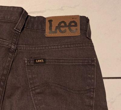 Spodnie jeansy Lee