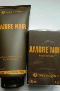 Yves Rocher Ambre Noir zestaw perfumowany edt żel...
