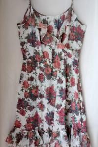 Jedwabna sukienka ZARA M