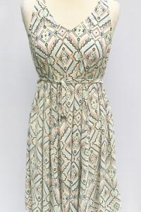 Sukienka H&M Mama Wzory Ciążowa S 36 Ciąża Asymetryczna...