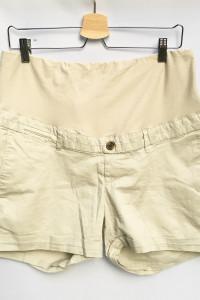 Spodenki Szorty H&M Mama XL 42 Ciążowe Beżowe Beż