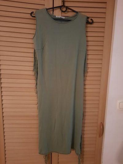 Suknie i sukienki Nowa ołówkowa sukienka z frędzlami