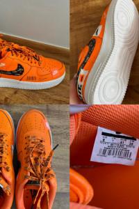 Nike air force just do it Orange...