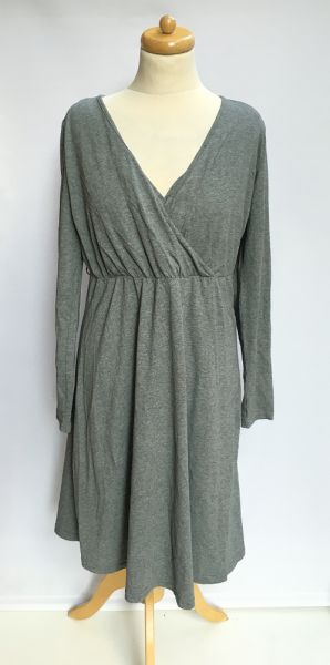 Suknie i sukienki Sukienka Szara Do Karmienia 40 42 L XL Bonprix Nursing Mama