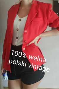 Marynarka polski vintage...