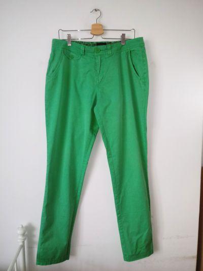 Spodnie Zielone spodnie rurki punk vintage retro
