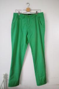 Zielone spodnie rurki punk vintage retro...