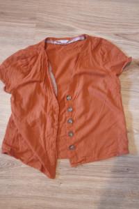 Bluzka pomarańczowa sinsay 36 s...