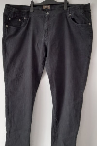 Czarne męskie spodnie jeansy 66...