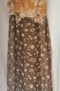 Jedwabna włoska sukienka POLVERE 40