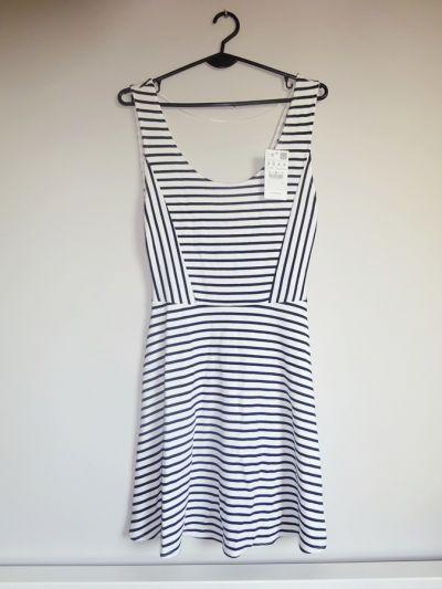 Suknie i sukienki Pull&Bear NOWA zwiewna letnia sukienka 36 S
