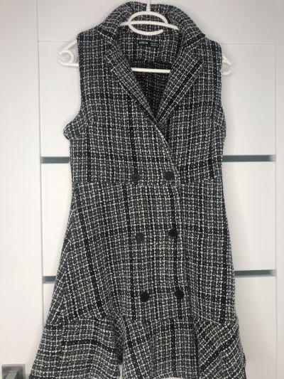 Suknie i sukienki Sukienka shein rozmiar S w kratkę