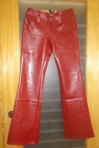 Spodnie skóropodobne jiggy...