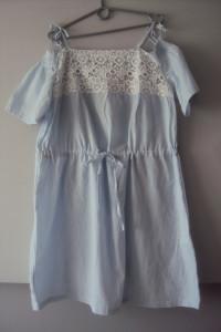 sukienka hiszpanka w paseczki...