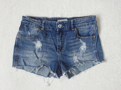 Spodenki Pull&Bear jeansowe krótkie spodenki 36 S