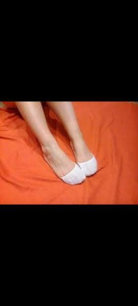 Skarpetki Stopki białe