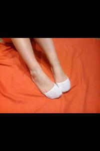 Stopki białe...