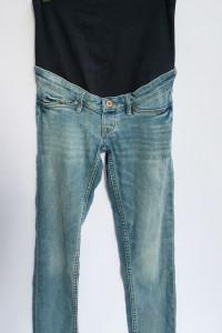 Spodnie Dzinsowe Ciążowe H&M Mama M 38 Skinny Ankle