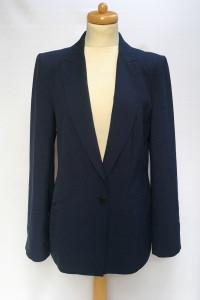 Marynarka Granatowa Zara XL 42 Elegancka Blezer