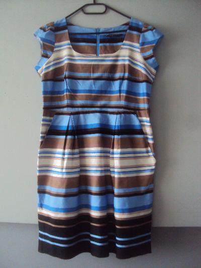 Suknie i sukienki elegancka sukienka z kieszeniami