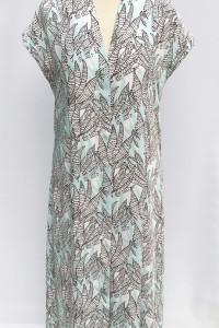 Sukienka Wzory H&M M 38 Błękitna Dłuższa Koszulowa...
