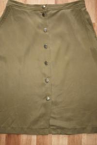 Spódnica khaki M...