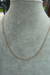 naszyjnik srebro kuleczki