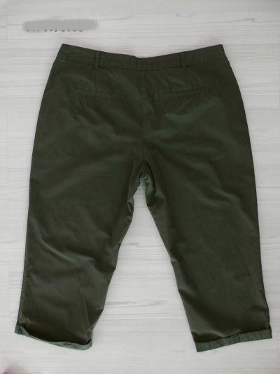 Spodenki Spodnie Bermudy Capri Rybaczki Oliwkowe Khaki Przewiewne XL