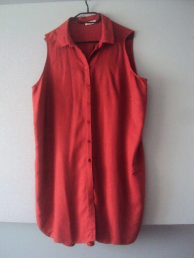 Suknie i sukienki koszulowa sukienka tunika