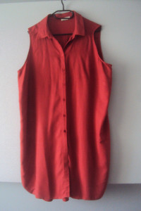 koszulowa sukienka tunika